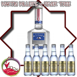 Gin Martin Miller + 6 Fever Tree Pack