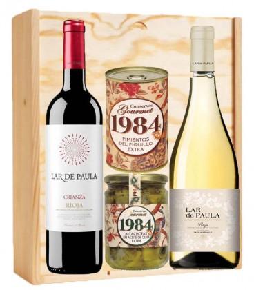 PACK LAR DE PAULA Y CONSERVAS 1984