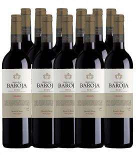 HEREDAD DE BAROJA Crianza 2016 caja de 11 botellas + Regalo botella Magnum + Descorchador