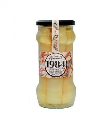 ESPÁRRAGOS 1984 Blancos extra Gruesos