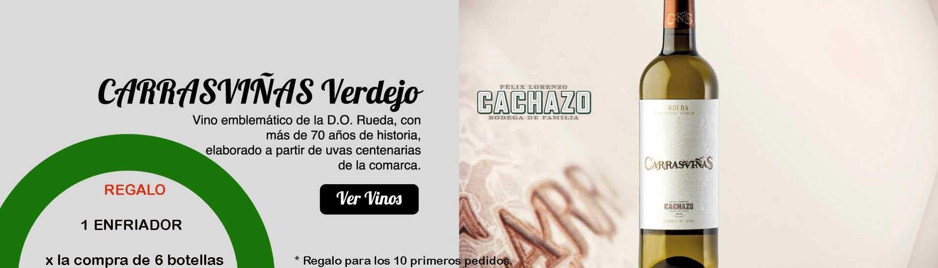CARRASVIÑAS VERDEJO + REGALO ENFRIADOR