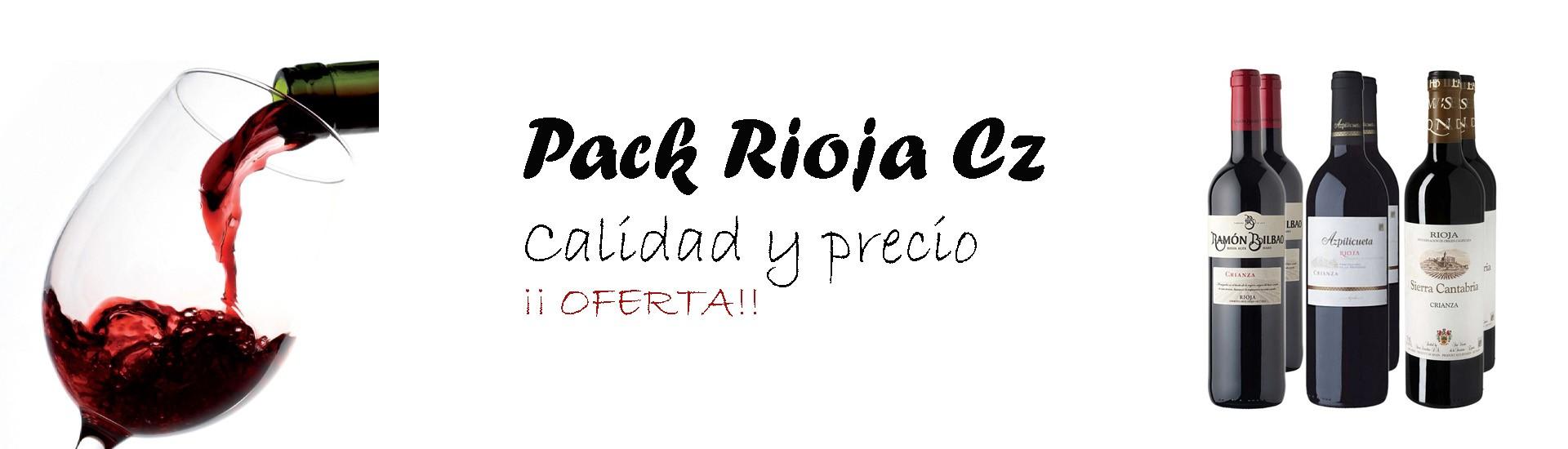 Pack Rioja crianza